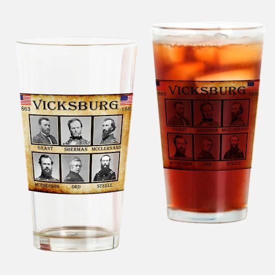 Vicksburg - Union Drinking Glass
