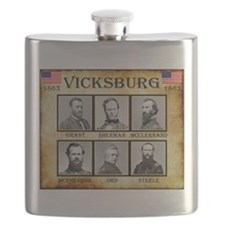 Vicksburg - Union Flask