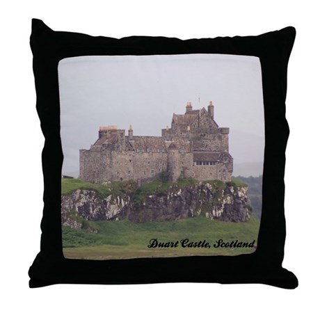 Duart Castle Throw Pillow