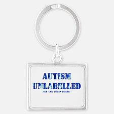 Autism Unlabelled See The Child Inside Blue Landsc