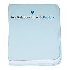 Patricia Relationship baby blanket