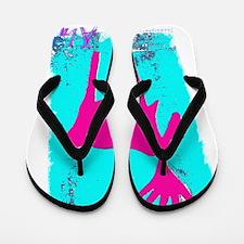 Elch Pink Flip Flops
