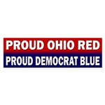Proud Ohio Red, Proud Democrat Blue