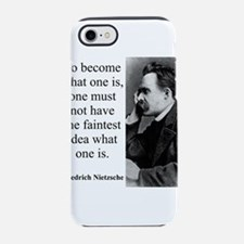 To Become What One Is - Nietzsche iPhone 7 Tough C