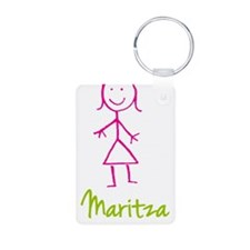 Maritza-cute-stick-girl.png Keychains
