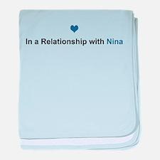 Nina Relationship baby blanket