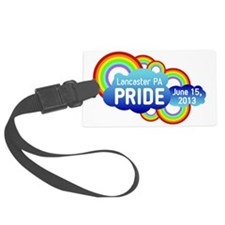 Lancaster Pride 2013 With Date Luggage Tag