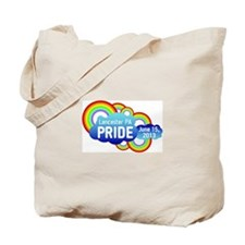 Lancaster Pride 2013 With Date Tote Bag
