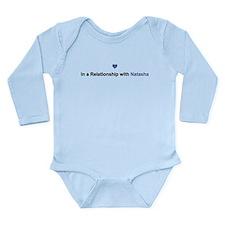 Natasha Relationship Long Sleeve Infant Bodysuit