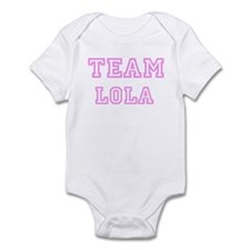 Pink team Lola Infant Bodysuit