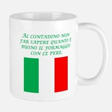 Italian Proverb Farmer Mug