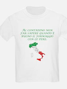 Italian Proverb Farmer T-Shirt