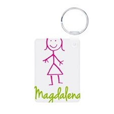 Magdalena-cute-stick-girl.png Keychains