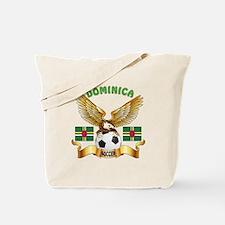 Dominica Football Design Tote Bag