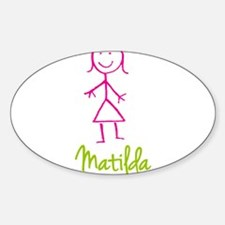 Matilda-cute-stick-girl.png Decal