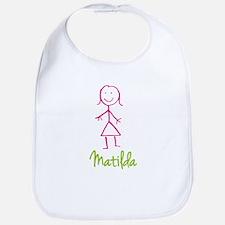 Matilda-cute-stick-girl.png Bib
