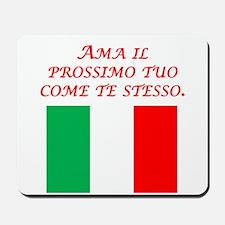 Italian Proverb Golden Rule Mousepad