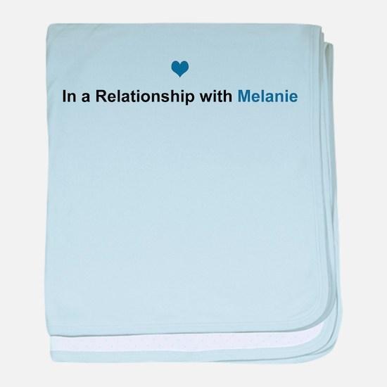 Melanie Relationship baby blanket