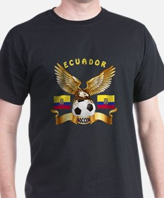 Ecuador Football Design T-Shirt