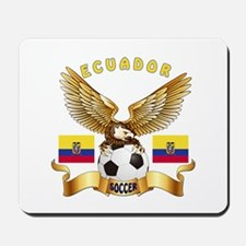 Ecuador Football Design Mousepad