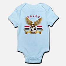 Egypt Football Design Infant Bodysuit