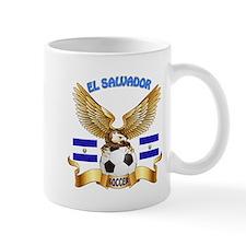 El Salvador Football Design Mug
