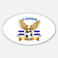 El Salvador Football Design Decal