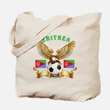 Eritrea Football Design Tote Bag