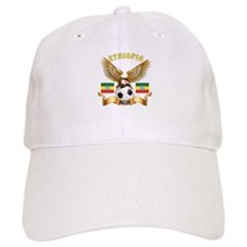 Ethiopia Football Design Baseball Cap