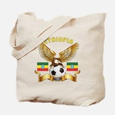 Ethiopia Football Design Tote Bag
