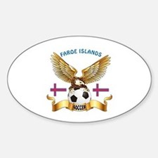 Faroe Islands Football Design Decal