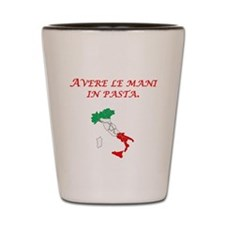 Italian Proverb Finger In The Pie Shot Glass