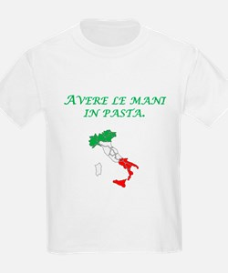Italian Proverb Finger In The Pie T-Shirt