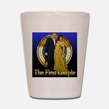 Cute Obama inauguration Shot Glass