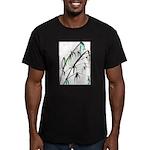 Bamboo Men's Fitted T-Shirt (dark)
