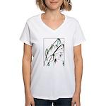 Bamboo Women's V-Neck T-Shirt