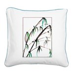 Bamboo Square Canvas Pillow