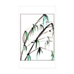 Bamboo Sticker (Rectangle 50 pk)