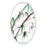 Bamboo Sticker (Oval 10 pk)