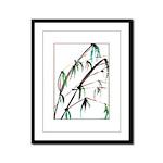 Bamboo Framed Panel Print