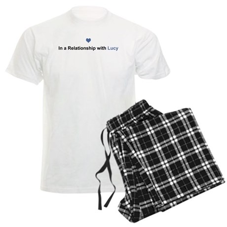 Lucy Relationship Men's Light Pajamas