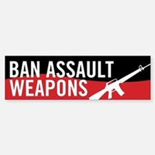 Ban Assault Weapons Bumper Bumper Bumper Sticker