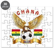 Ghana Football Design Puzzle