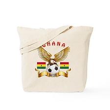 Ghana Football Design Tote Bag