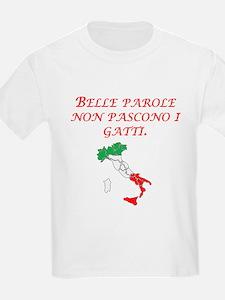 Italian Proverb Fine Words T-Shirt