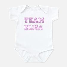 Pink team Elisa Infant Bodysuit