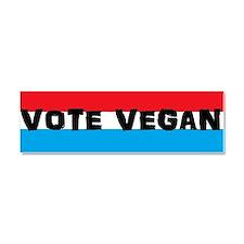 Vote Vegan Car Magnet 10 x 3