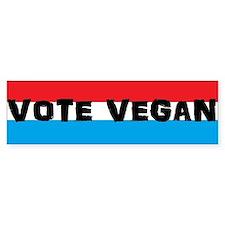 Vote Vegan Bumper Sticker