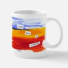 Human Race Is A Rainbow Mug