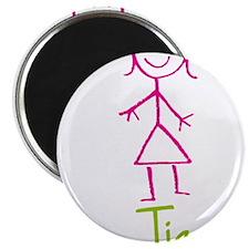"Tia-cute-stick-girl.png 2.25"" Magnet (10 pack)"